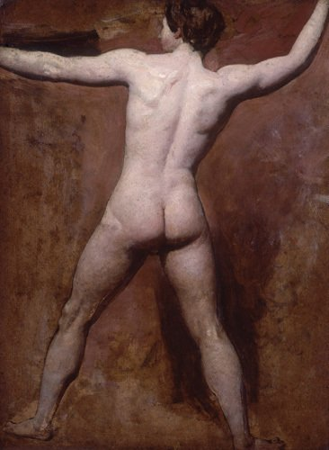 Academic Male Nude by William Etty