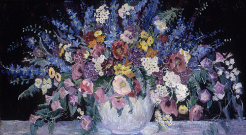 Still Life with Flowers by Dorothea M. Litzinger