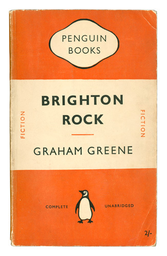 Penguin Book Cover Size ~ Brighton rock art print by penguin books king mcgaw