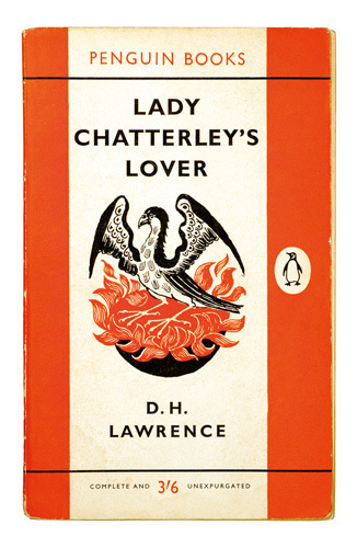 Vintage Penguin Book Cover Posters : Lady chatterley s lover art print by penguin books king