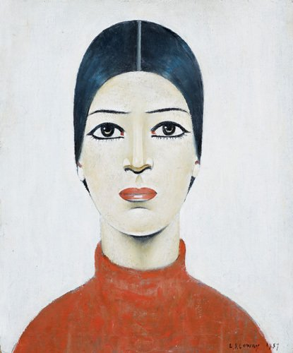 Portrait Of Ann, 1957 by L S Lowry