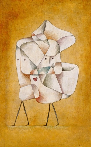 Brother and Sister, 1930 by Paul Klee