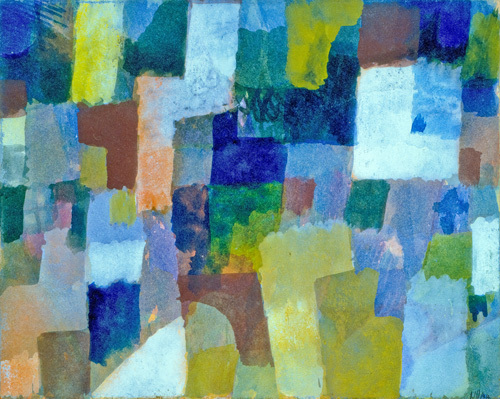 Ohne Titel, 1915 by Paul Klee