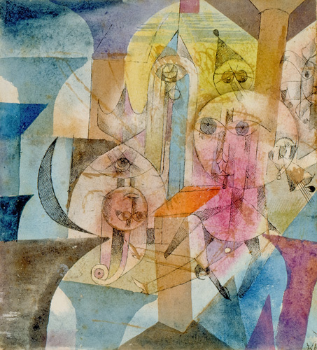 Astrale Automaten, 1918 by Paul Klee
