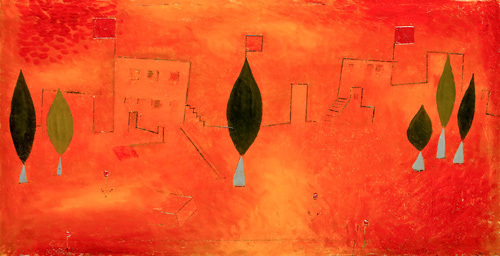 Orient - East, 1927 by Paul Klee