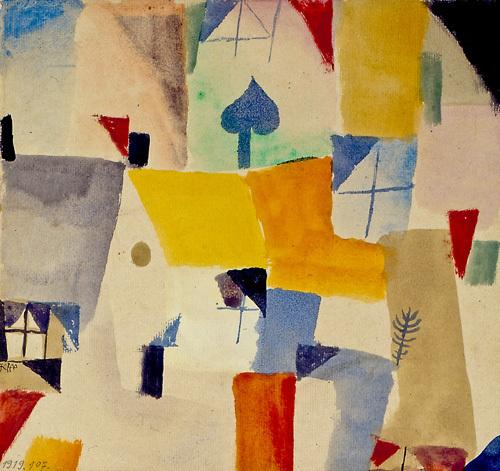 Window, 1917-19 by Paul Klee