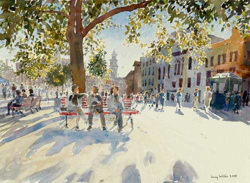 Campo di Santa Margherita, Venice by Lucy Willis