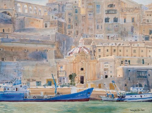 City of Stone, Valletta, Malta by Lucy Willis
