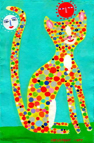 Spotty Leopard by Christopher Corr