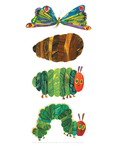 The Very Hungry Caterpillar 3 by Eric Carle