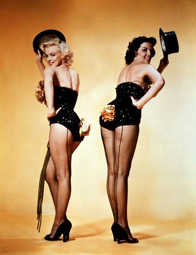 Gentlemen Prefer Blondes, 1953 by Frank Powolny