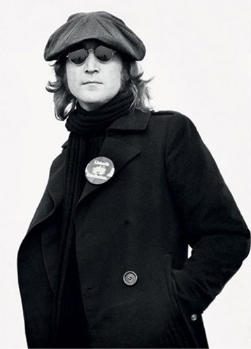 John Lennon - Button by Bob Gruen