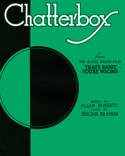 Chatterbox (That's Right, You're Wrong) by Anonymous
