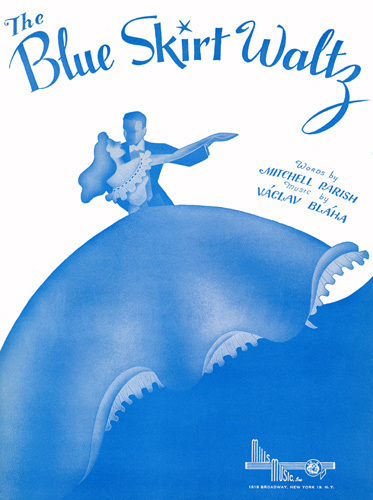 the blue skirt waltz print by anonymous at king mcgaw