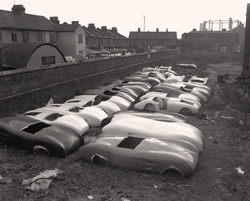 Fibreglass car bodies, 1955 by Anonymous