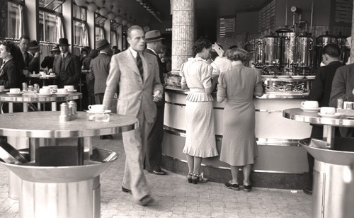 Amsterdam Cafe, August 1938 by Anonymous