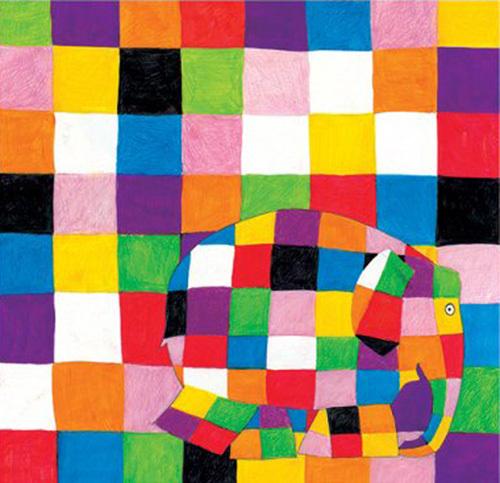 Elmer - Squares by David McKee