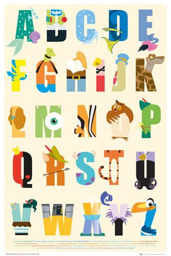 Disney - Alphabet by Disney