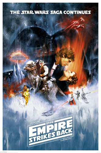 Star Wars - The Empire Strikes Back by Cinema Greats