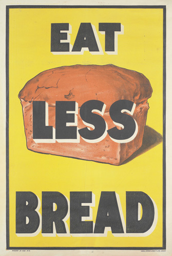 eat less bread art print by anonymous king   mcgaw