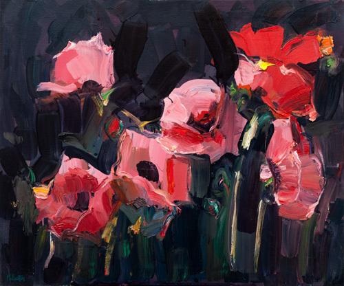 Pink Poppies by James Fullarton