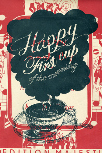 First Cup of Coffee by Adeline Meilliez