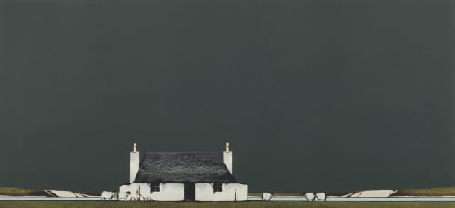 Tiree Cottage by Ron Lawson