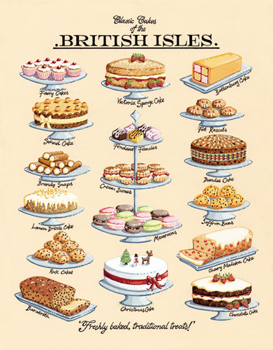 Kitchen Cuisine Cakes Menu