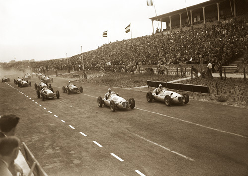 The Start, Zandvoort by Anonymous