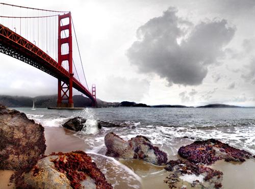 Golden Gate Bridge by Henry Reichhold
