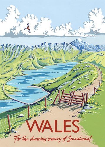 Wales by Kelly Hall