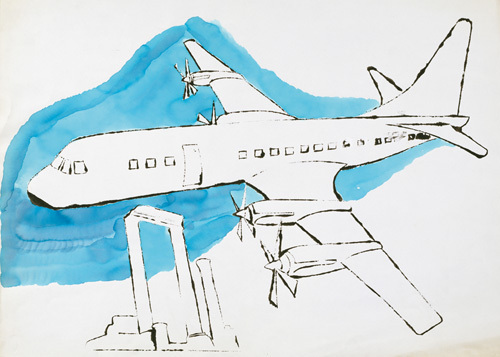 Airplane c.1959 by Andy Warhol