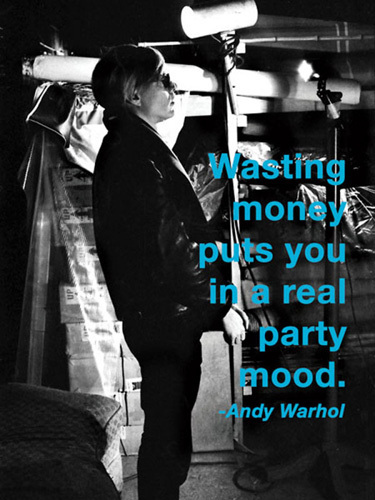 Wasting Money by Andy Warhol