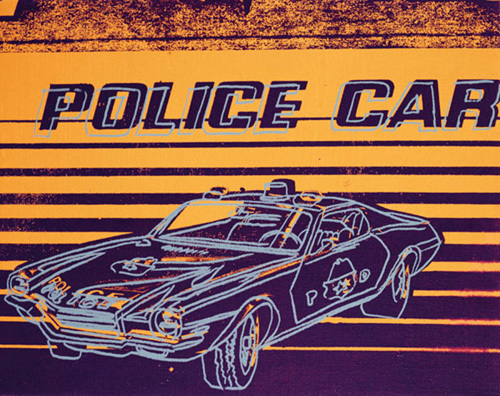Police Car, 1983 by Andy Warhol