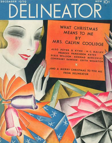 Delineator December 1929 by Helen Dryden