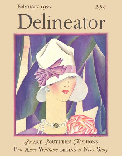 Delineator February 1927 by Helen Dryden