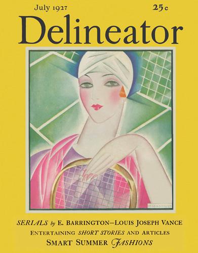 Delineator July 1927 by Helen Dryden