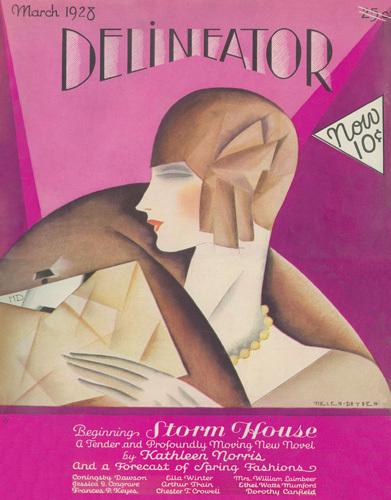 Delineator March 1928 by Helen Dryden