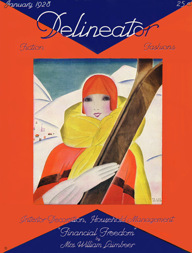 Delineator January 1928 by Anonymous