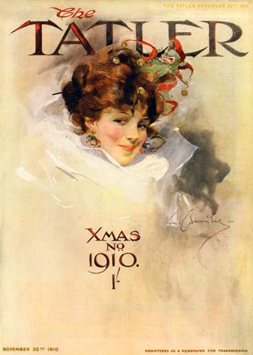 Fancy Dress, 1910 by William Barribal