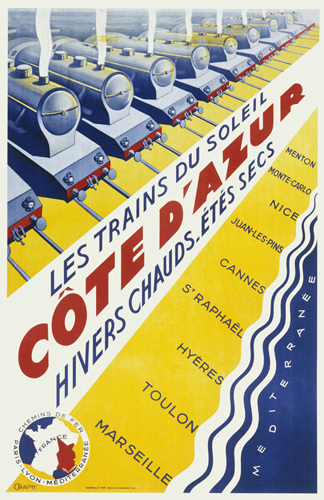 Trains to the Cote dAzur by Anonymous