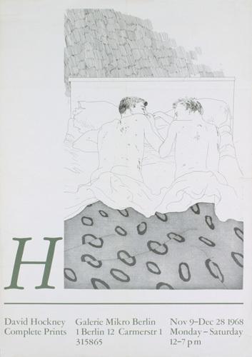 Two Boys Aged 23 or 24, 1968 by David Hockney
