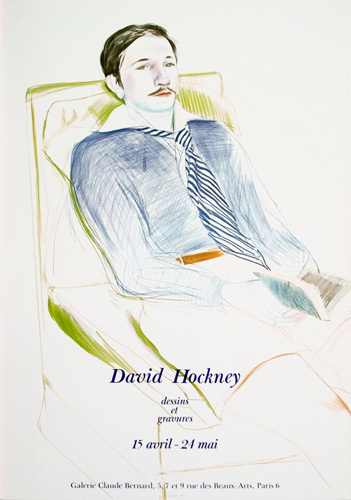 Jacques de Bascher de Beaumarchais, 1973 by David Hockney