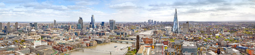 East View from South Bank Tower by Henry Reichhold
