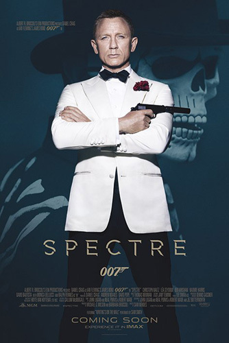 James Bond - Spectre Skull by Anonymous