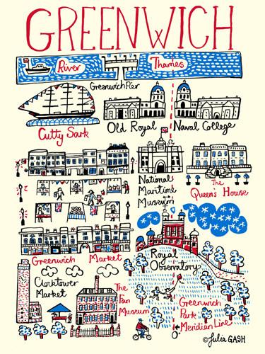 Greenwich Art Prints | King & McGaw