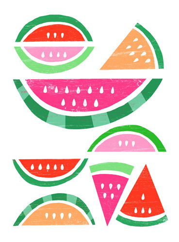Watermelon White by Ana Zaja Petrak