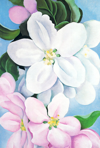 Apple Blossoms, 1930 by Georgia O'Keeffe
