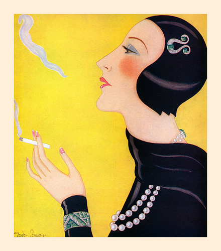 The Cigarette by Gordon Conway