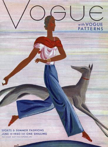 Vogue 11 June 1930 by Eduardo Benito